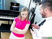 Attractive teen Gracie May Green hooks up with her step brother