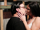 Graceful milf India Summer is making love with her new admirer