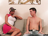 Tanned hooker Lily Jordan is fucked by hot blooded young dude
