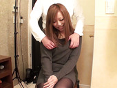Japanese chick Nana Kawase gets her tits squeezed and pussy fucked