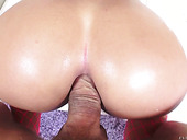 Big bottomed babe Amara Romani gets her anus slammed
