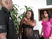 Black floozy Sani gets her pussy licked and fucked by horny mandingo