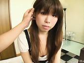 Kinky dude examines super hairy cunt of Japanese chick Arisa Shirahama