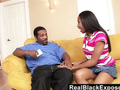 Curvy ebony chick Mocha Love is fucked by hot blooded boyfriend