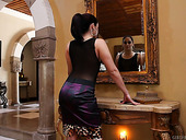 Passionate lesbian video featuring seductive hottie Sheena Ryder