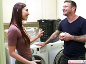 Filthy babe Aidra Fox is having an affair with handsome neighbor