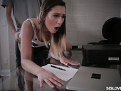 Sexually compulsive hottie Jaye Summers is fucked by horny step brother