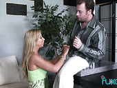 Big tittied whore wife is having an affair with horny neighbor