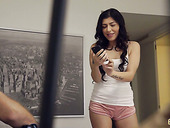Brunette Audrey Royal gets intimate with her always horny step brother