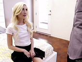 Petite blonde Piper Perri is fucked by hot blooded and well endowed stepdad