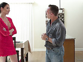 Experienced milf Silvia Saige gives the best ever nuru massage to her man