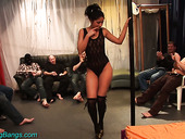 Experienced stripper and hooker Julia is fucked at the bachelor party