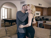 Blond babe Sierra Nicole is making love with her new boyfriend
