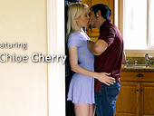 Tempting blonde Chloe Cherry is everything stepbrother desires every day