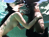 Japanese milf Marica Hase gets her anus blacked by the poolside