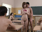 Nudist teacher fucks one of his nude students Hikaru Shiina