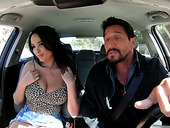 Man eating French bitch Anissa Kate gets her boobies fucked and jizzed
