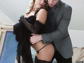 Captivating Russian babe Sofi Goldfinger enjoys having sex for money