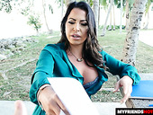 Cuban milf Julianna Vega is fucked by stepson's friend in hot POV scene