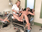 Lesbian Gynecologist Puts On Strapon And Fucks Wet Pussy Of Jaelyn Fox