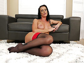 Sexy brunt housewife Texas Patti is eager for your meaty big dong
