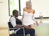 Hot blooded German milf Nina Elle is having crazy sex fun with black lover