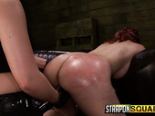 Seductive chick Isa Mendez is punished by two kinky and cruel mistresses
