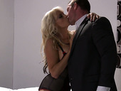 Voluptuous Babe Stormy Daniels Is Sucking Hard Cock And Getting Her Pussy Slammed