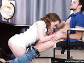 Straight A student Emma Fantazy gets nasty and hooks up with one of her best friends