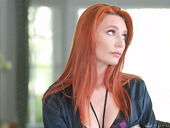 Slutty wife Lacy Lennon is cheating on her blind husband with his brother