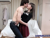 Japanese Chick In Ripped Pantyhose Mayumi Ariiwa Gets Fucked And Creampied