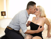 Private gigolo tries to satisfy sex-starved mature cougar Mary Rider