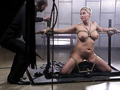 Short haired blonde MILF Ryan Keely deserves some hardcore BDSM fuck today
