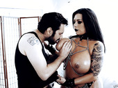 Femme fatale Sheridan Love gives her head and rides a dick face to face