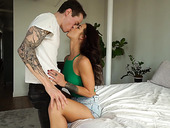 Passionate sex of one insatiable couple