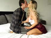 Long haired blonde Luna Skye is making love with tattooed lover Owen Gray