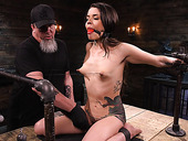 Ultimate BDSM porn featuring submissive babe Vanessa Vega