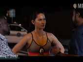 Beautiful cleavage of Olivia Munn compilation video