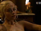 Game Of Thrones nude scenes featuring Emilia Clarke