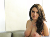 Stunning adult actress Krissy Lynn gives an interview