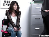 Shoplifting milf Vera King is fucked and jizzed by security guy