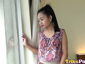 Sexy Filipina babe Elaine is sucking a dick before crazy pussy pounding