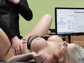 Fucking hot Czech milf Blanche Bradburry gets fucked in the office