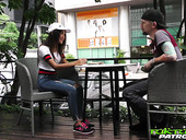 Lustful Thai student Mint gets intimate with barely known guy