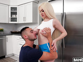 Insanely hot stepsister Skylar Vox is fucked by stepbrother in the shower