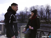 Modest and beautiful babe Emily Wilson is fucked hard on the first date