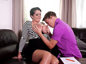 Ample breasted milf Anissa Jolie is fucked hard by young student