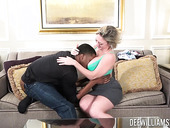 Black guy Isiah Maxwell fucks hot Mrs.Williams in mouth and pussy