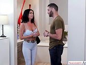 Big tittied milf Veronica Avluv is fucked by horny young lover