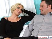 Sex-insane milf with big tits Phoenix Marie seduces married neighbor